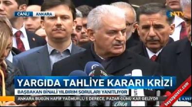 binali yildirim - Başbakan Yıldırım'dan AYM'nin hak ihlali kararı hakkında açıklama