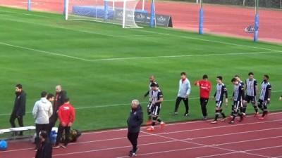 hazirlik maci - Beşiktaş, Skenderbeu'yu 3-2 yenerek kampı tamamladı