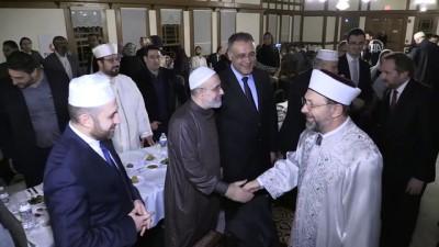 Diyanet İşleri Başkanı Erbaş'tan Müslümanlara birlik çağrısı - WASHINGTON