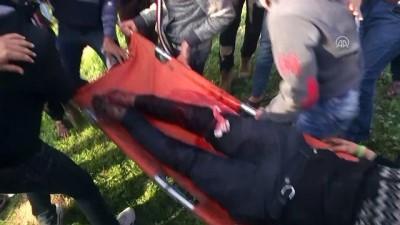 İsrail'den sınırdaki gösterilere müdahale: 41 yaralı - GAZZE