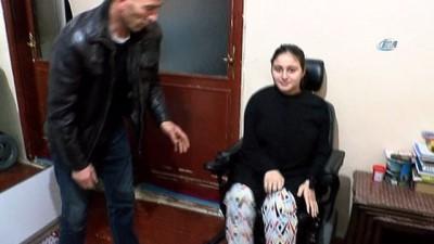 Kas hastası genç kız eski günlerine dönmek için yardım bekliyor