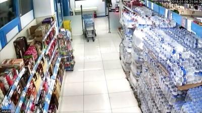 Markette silahlı soygun girişimi - KAYSERİ