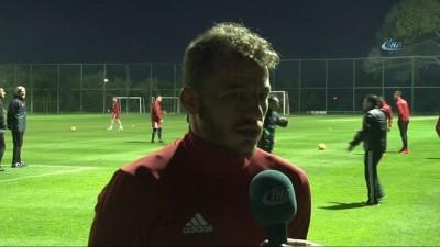 """Ziya Erdal: """"Futbolu burada bırakmak istiyorum"""""""