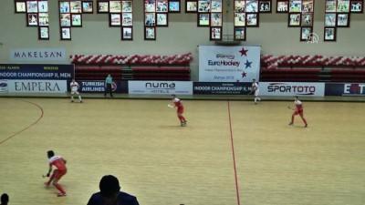 beraberlik - Avrupa Erkekler Salon Hokeyi Şampiyonası - Türkiye, Hollanda'ya 6-0 yenildi - ANTALYA