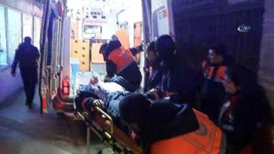 Başakşehir Ayakkabıcılar Sitesi'nde yangın... 1 itfaiyeci yaralı