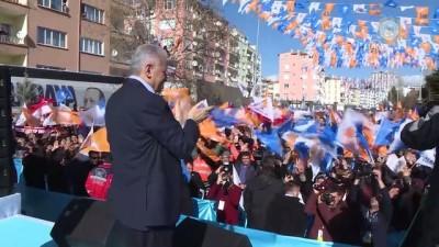 Başbakan Yıldırım, AK Parti Niğde 6. Olağan İl Kongresi'ne katıldı (2) - NİĞDE
