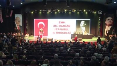 CHP İstanbul 36. Olağan İl Kongresi'nde gerginlik - İSTANBUL