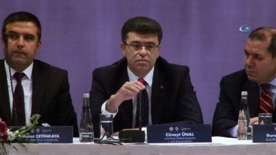 """Dursun Özbek: """"6222 sayılı kanunla güvenlik konularında çok önemli ilerlemeler sağlandı"""" -2-"""