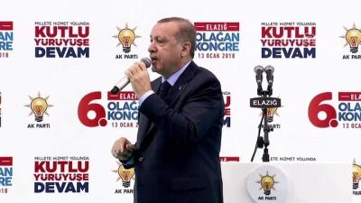 Erdoğan, partisinin Elazığ 6. il kongresine katıldı - ELAZIĞ