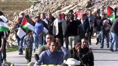 İsrail askerleri Batı Şeria'daki gösteriye müdahale etti - RAMALLAH