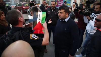 isgal - İsrail polisinden Kudüs'te göstericilere müdahale