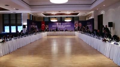 Spor Güvenliği Çalıştayı başladı - İSTANBUL