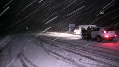soguk hava dalgasi - Yüksek kesimlerde yoğun kar - KIRKLARELİ