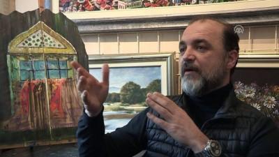 Ahşabı dile getiren 'tahta avcısı' ressam - SARAYBOSNA