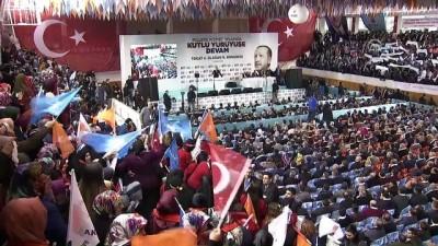 """Cumhurbaşkanı Erdoğan: """"Ülkemizi hiçbir zaman farklı renklere boyamadık"""" - TOKAT"""
