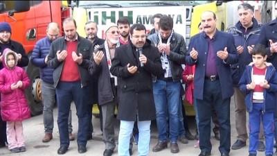 İHH'dan Suriye'ye insani yardım - AMASYA