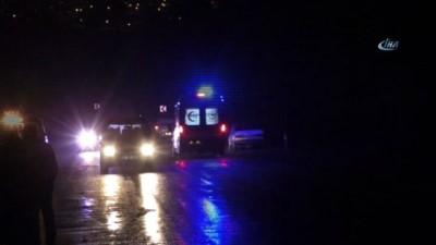 Otomobil şarampole yuvarlandı: 1 ölü, 5 yaralı