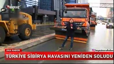 soguk hava dalgasi - Türkiye Sibirya havasını yeniden soludu!