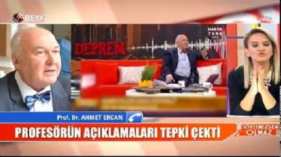 Ahmet Ercan o sözlerinin arkasında durdu