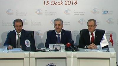 Bakan Arslan, 'Küçükçekmece-Sazlıdere-Durusu koridoru Kanal İstanbul projesinin Karadeniz'den Marmara denizine bağlantısı yolu olarak tespit edilmiştir'