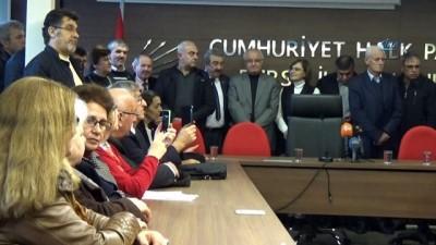 CHP Bursa İl Başkanı Hüseyin Akkuş görevi devraldı