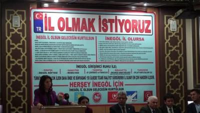 CHP Genel Başkan Yardımcısı Karabıyık: 'İnegöl il olmayı çoktan hak etmiş durumda' - BURSA