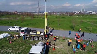 Kanal İstanbul'un sahadaki son sondajı yapıldı (drone) - İSTANBUL