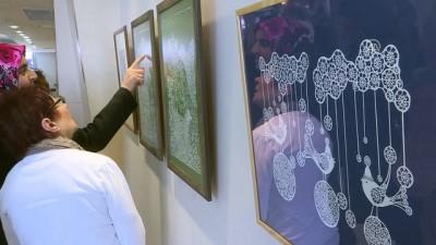 Litvanyalı sanatçılardan 'Kağıdın Sanata Dönüşümü' sergisi - İZMİR