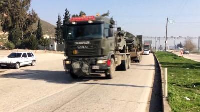 Suriye sınırına zırhlı araç sevkiyatı (2) - HATAY