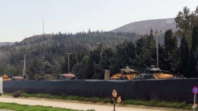 Suriye sınırına zırhlı araç sevkiyatı - HATAY