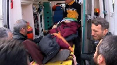 TEM otoyolunda sıkışmalı trafik kazası: 3 yaralı