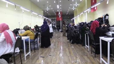 Türk ve Suriyeli kadınlar birlikte üretiyor - ŞANLIURFA