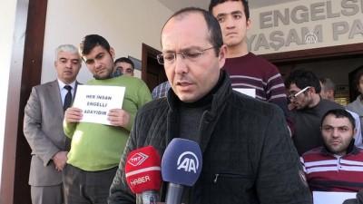 Adana'da engelli gencin darbedilmesi - Engelli derneği üyeleri saldırıyı kınadı - AMASYA