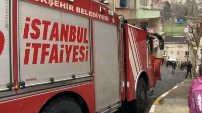 Beyoğlu'nda faciadan dönüldü