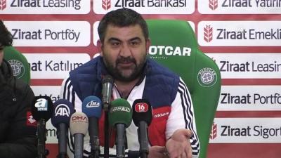 Bursaspor-Gençlerbirliği maçının ardından - Ümit Özat - BURSA