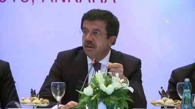 """Ekonomi Bakanı Zeybekci """"Dünyanın en iddialı yatırım teşvik sistemi illaki Türkiye'de olacak"""" – ANKARA"""