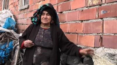 sili -  Evleri çatlayan köylüler ölüm korkusuyla yaşıyor