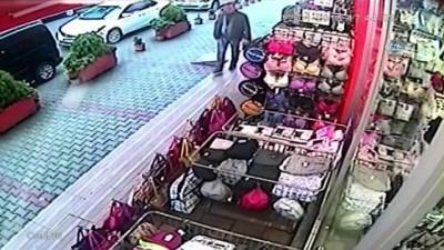 Kadın giyim mağazasında yaşanan hırsızlık kamerada Haberi