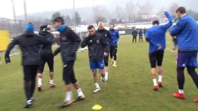 sili - Karabükspor'da Gençlerbirliği maçı hazırlıklarına başladı