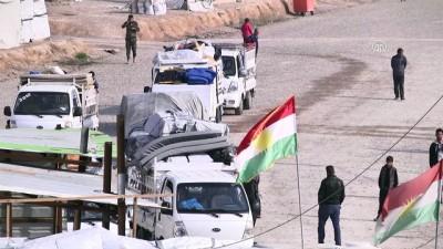 Musullu iç göçmenler evlerine dönemiyor - MUSUL