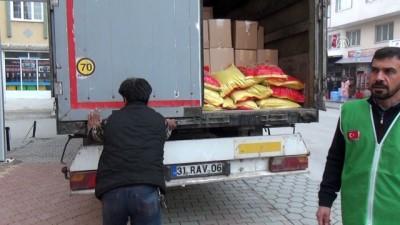 Suriyelilere yönelik yardımlar - OSMANİYE
