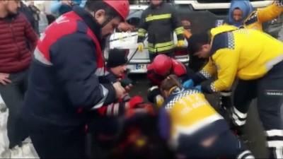 Trafik kazasında kopan parmak karla muhafaza edildi - ZONGULDAK