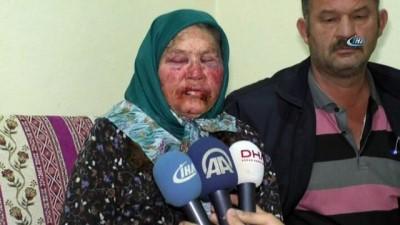 Yaşlı kadının darp edilmesinde kullanılan bant ve bardak kriminal incelemeye gönderildi