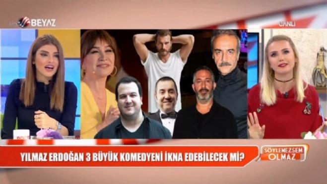 ata demirer - Yılmaz Erdoğan, 3 büyük komedyeni ikna edebilecek mi?