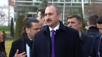 """Adalet Bakanı Abdulhamit Gül: """"Türk demokrasi hayatı için çok önemli gelişmelerin, birlikteliğin, bir mutabakatın gerçekleşeceğine inanıyoruz"""""""