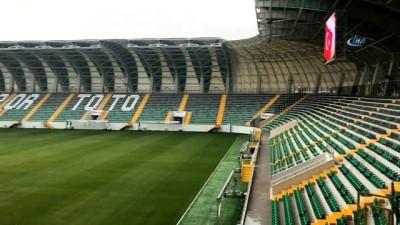 Akhisar'ın yeni stadı ilgi odağı oldu