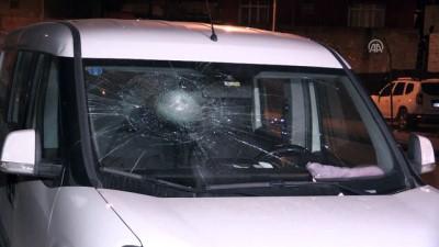 Araçların camlarını taşla kıran şüpheli yakalandı - ADANA