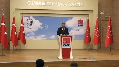 CHP Parti Sözcüsü Tezcan: 'Parlamento, bu oylamada OHAL'i uzatmamalı ve yetkilerine sahip çıkmalıdır' - ANKARA