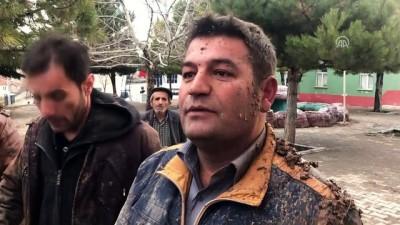 Düşen askeri uçağın enkazına ilk ulaşan köylüler gördüklerini anlattı - ISPARTA