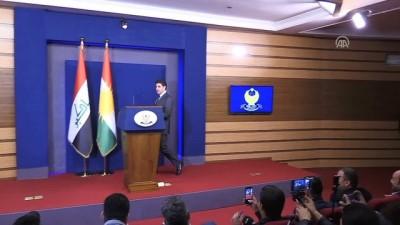 Erbil ile Bağdat arasındaki sorunlar - IKBY Başbakanı Barzani - ERBİL